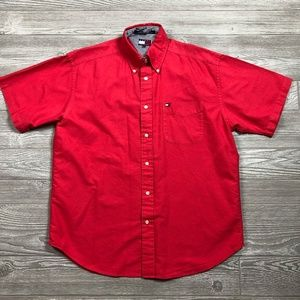 Tommy Hilfiger Short Sleeve Button Up Men's M O99